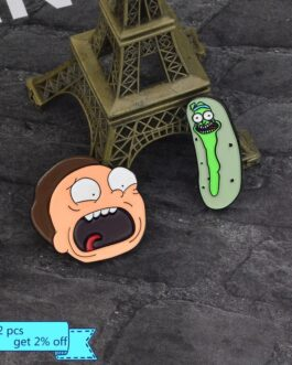 Broches personagens  – Rick and Morty