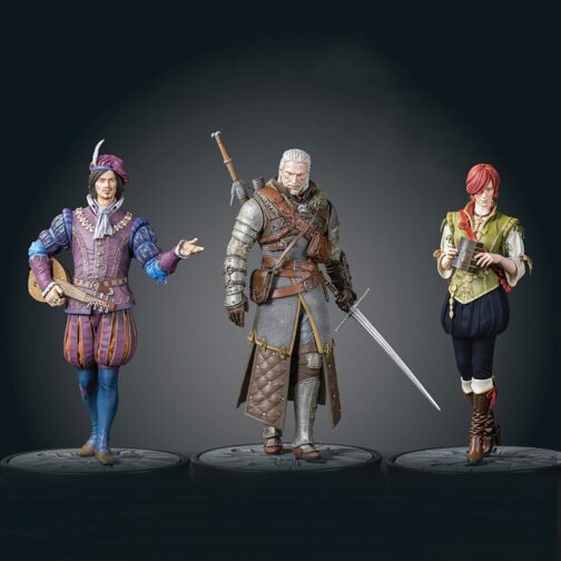 Figures The Witcher