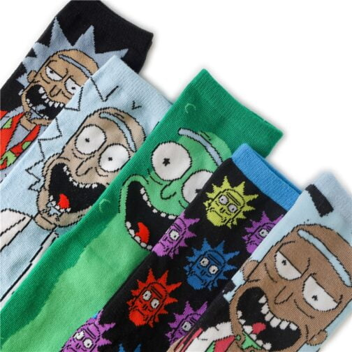 Meias Rick and Morty