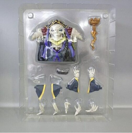 Mini action figure overlord - Ainz Ooal Gown