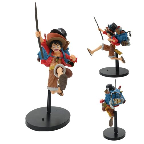 Figures one piece - Luffy - Ace - Sabo